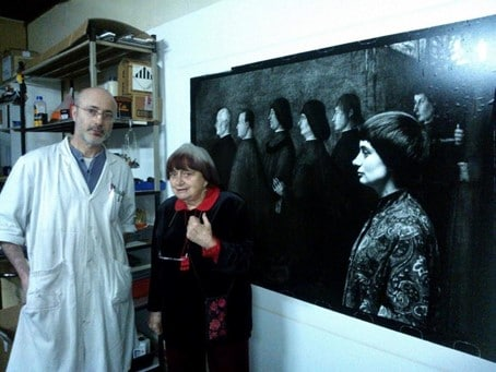 Diamantino Quintas et Agnès Varda. Photo © DR