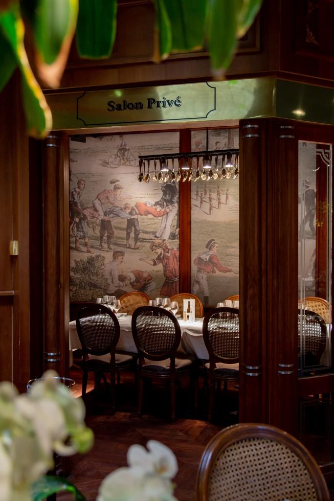 La salle à manger privée aux Grands Buffets de Narbonne. Photo © DR