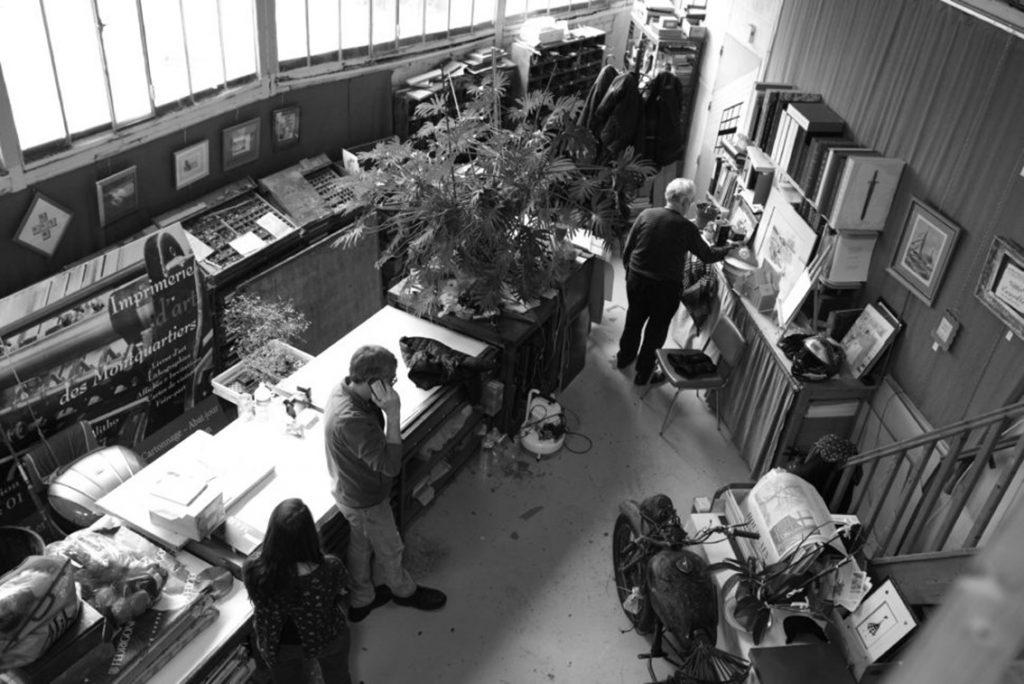 L'atelier de Pascal Duriez. Photo © Pierre d'Ornano