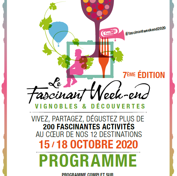 Œnotourisme : 7e édition du « Fascinant Week-End »