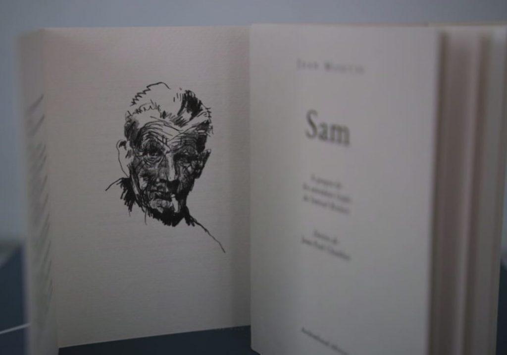 « Sam », de Jean Martin – éditions Archimbaud, imprimé par Pascal Duriez. Photo © Pierre d'Ornano