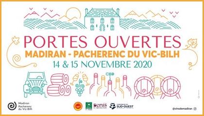 Affiche WE Portes Ouvertes Madiran - Pacherenc du Vic-Bilh