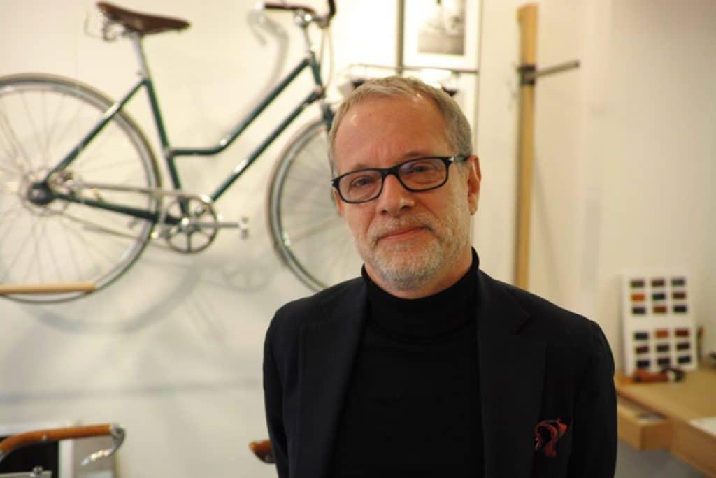 Frédéric Jastrzebski, ex-financier, a l'initiative de la renaissance en 2014 des cycles Tamboite. Photo © Pierre d'Ornano