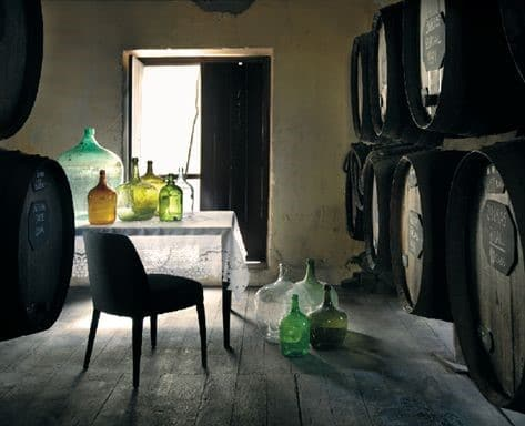 Fûts de madère entreposés dans un grenier, méthode canteiro © IVBAM / Christophe Macra