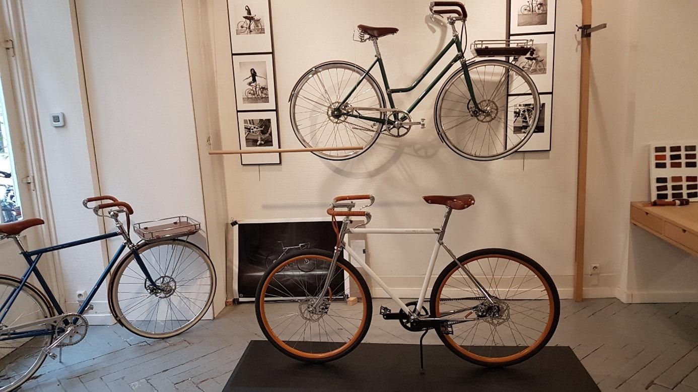 L'atelier boutique des cycles de la Maison Tamboite, sise 20 rue Saint Nicolas à Paris 12e. Photo © Pierre d'Ornano