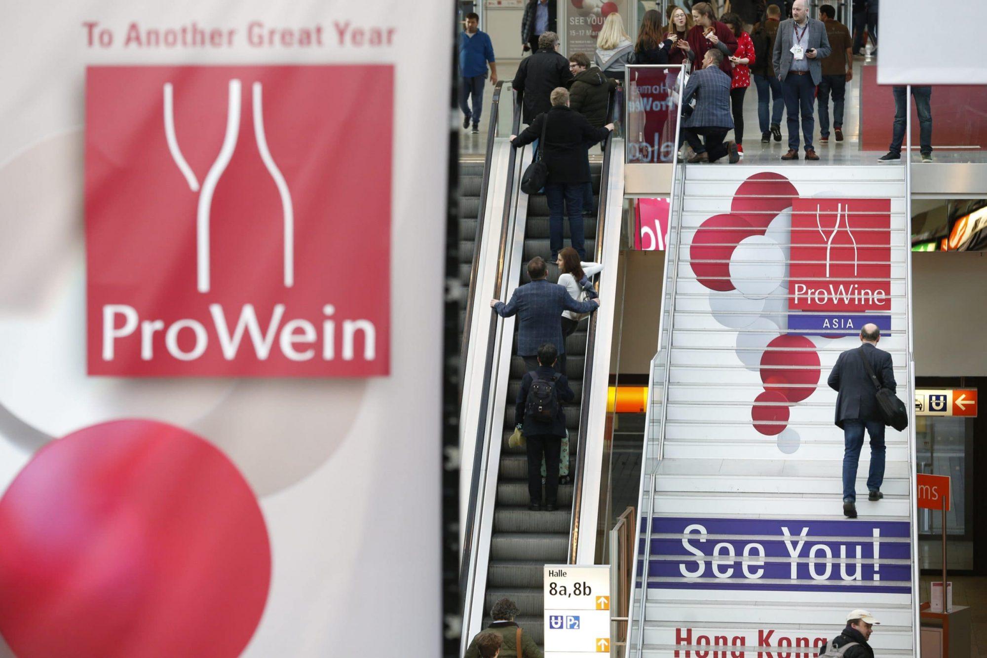 Prowein 2019. Crédit photo : Messe Düsseldorf/ctillmann