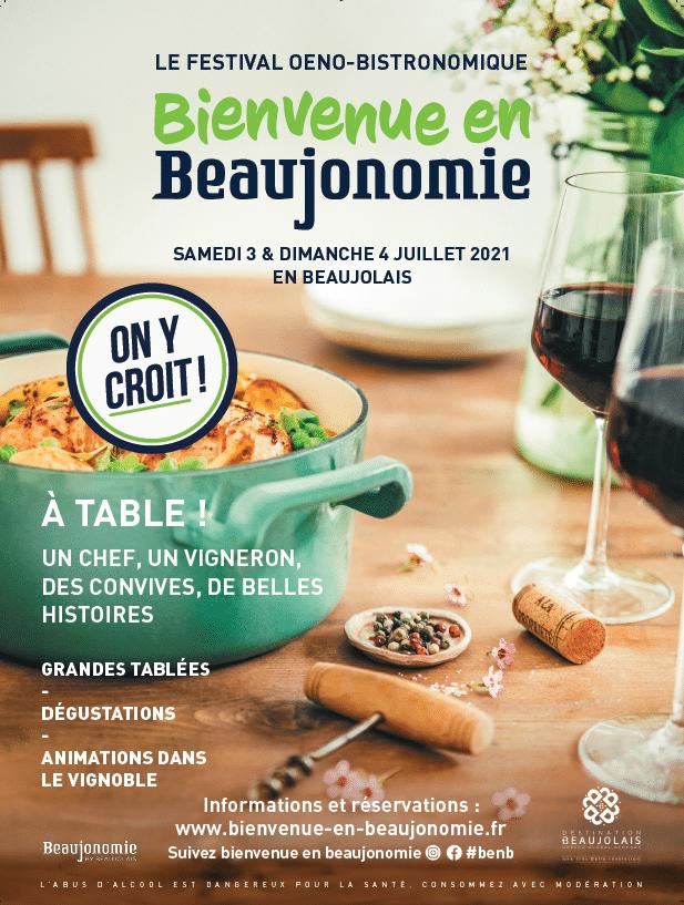 Festival Bienvenue en Beaujonomie les 3&4 juillet 2021
