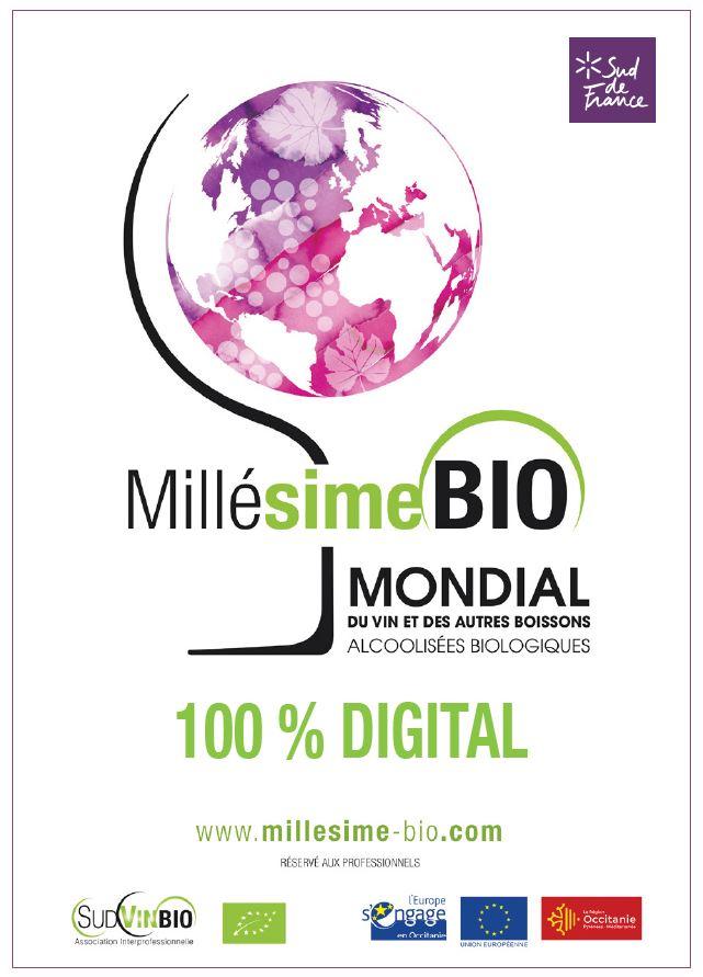 2e Millésime BIO 2021 100% digital