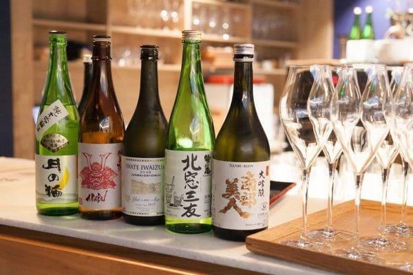 Cinq sakés d'exception élaborés par des brasseurs d'Iwate.