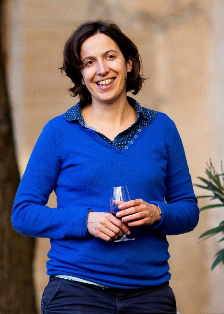 Jeanne Fabre, présidente de Millésime BIO. Photo © Famille Fabre
