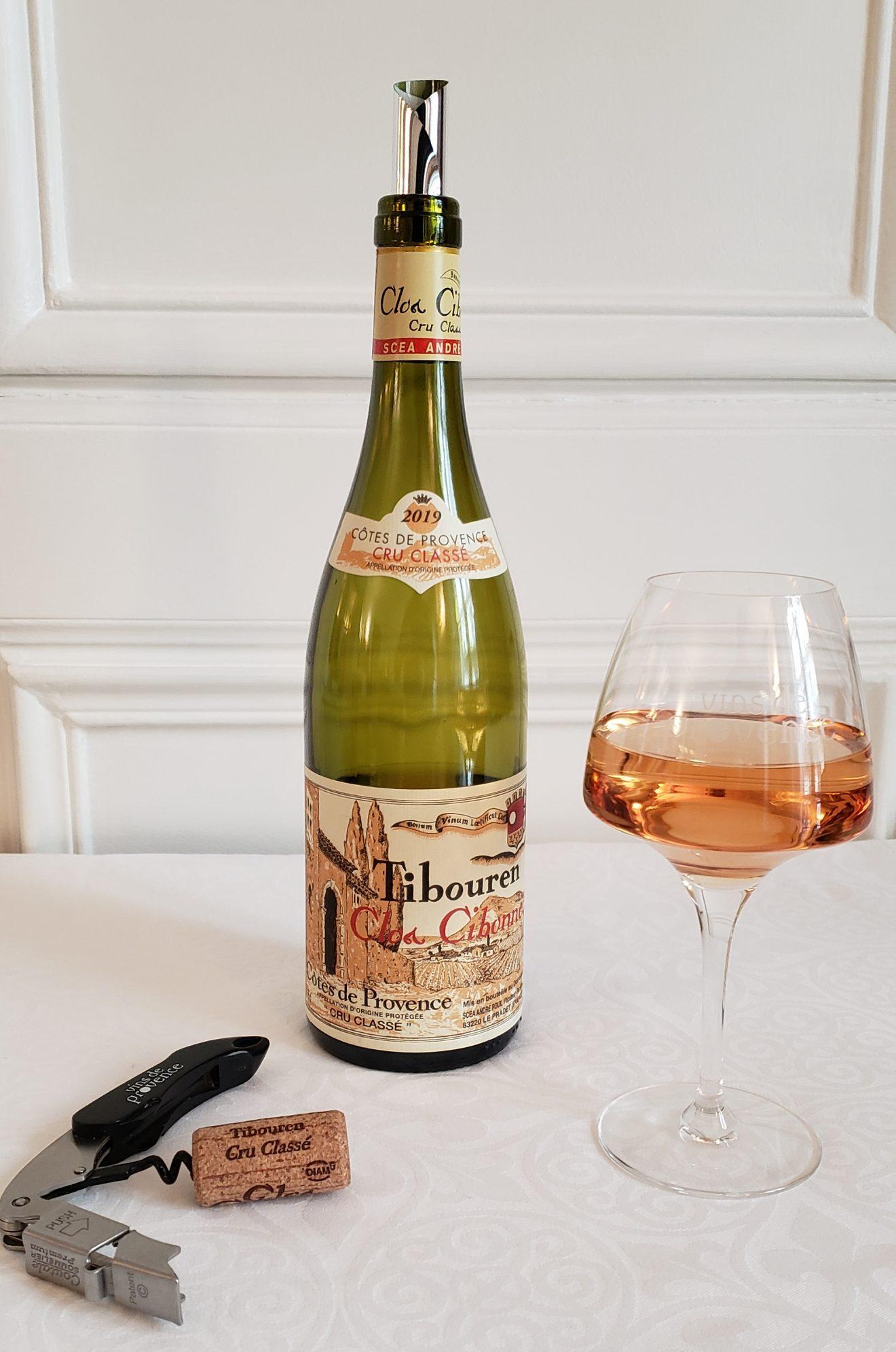 Clos Cibonne - Cru classé Côtes de Provence - rosé, cuvée Tradition 2019, cépage tibouren. Photo © Pierre d'Ornano/Aeternus.fr