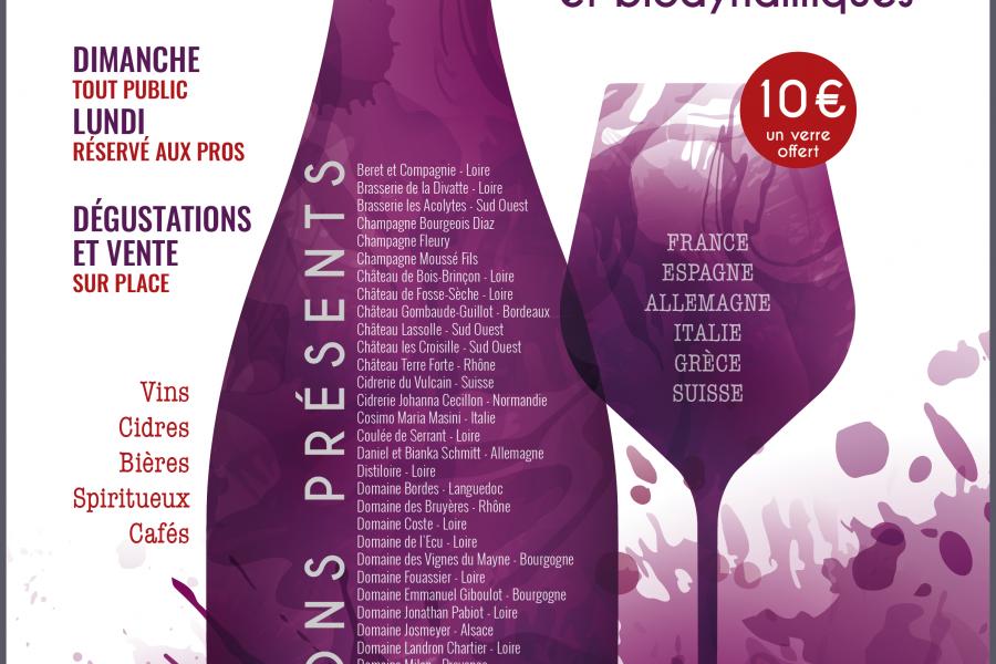 « Le Temps des Copains », salon des vins bio et biodynamiques, les 27 & 28 juin
