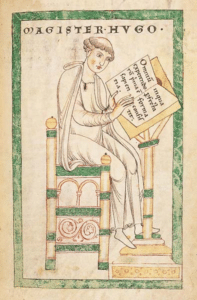Hugues de Saint-Victor rédige le Didascalicon (Leyde, Bibliothek der Rijkuniversiteit)