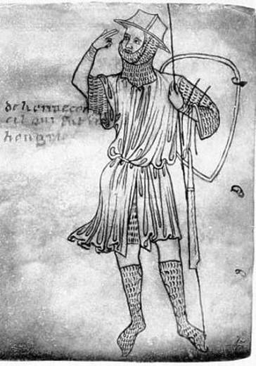 Villard de Honnecourt en autoportrait