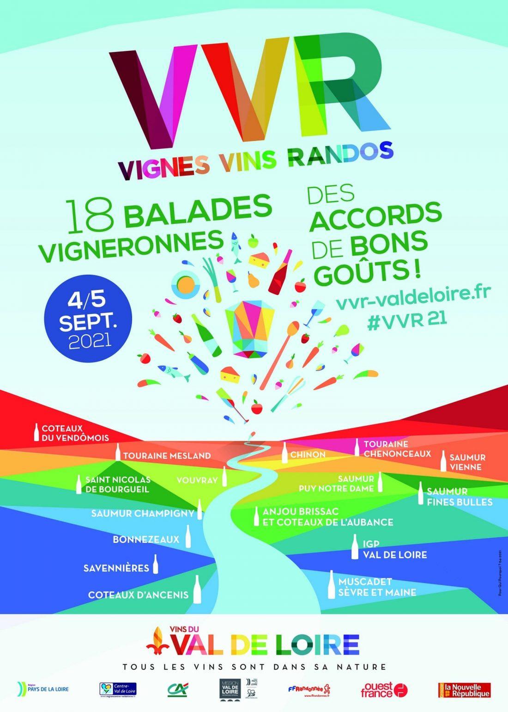 18e édition de «Vignes, Vins, Randos en Val de Loire»