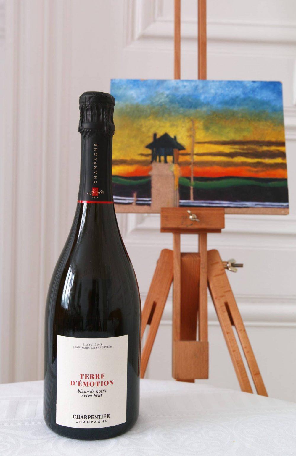 « Terre d'émotion – extra brut » – Maison Charpentier : un champagne singulier et atypique